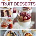 8 delicious summer fruit desserts that are perfect for summer BBQs and parties!