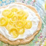 Candied Lemon Pavlova