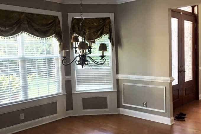 Paint Makeover Agreeable Gray
