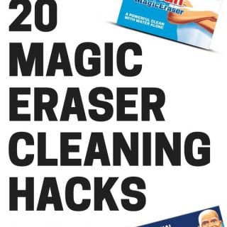 20 Magic Eraser Cleaning Hacks You'll be glad to learn-Magic Erasers are my favorite cleaning tool, here are twenty ways to use them inside and outside of the house!