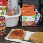 lunchbox organization ideas-this makes packing lunches so much faster and easier!