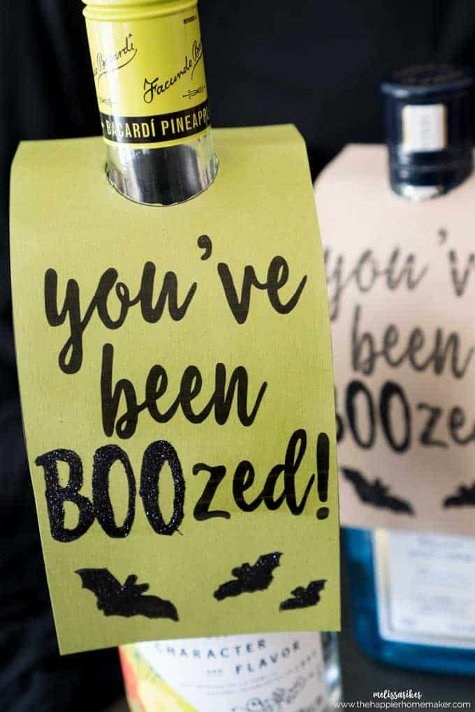 photo about You've Been Boozed Printable titled Youve been BOOzed\
