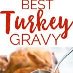 This is the perfect turkey gravy recipe, my go to for Thanksgiving dinner!