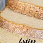 sliced butter pound cake