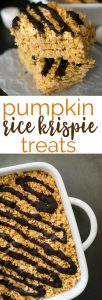 Give your favorite treat an autumn twist with this Pumpkin Rice Krispie Treat recipe-perfect for fall parties!