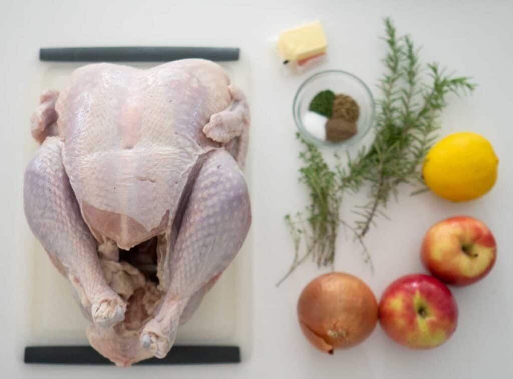 roast turkey ingredients