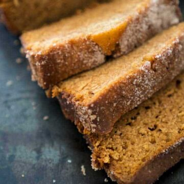 sliced Amish friendship bread