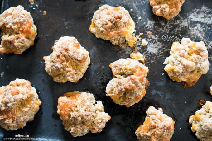 Sausage Cheddar Balls are a classic appetizer recipe perfect for entertaining. Whips together quickly and always a crowd pleaser!
