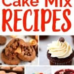 Cake Mix is for more than cake- try these 20+ amazing dessert recipes made in a flash using cake mix!