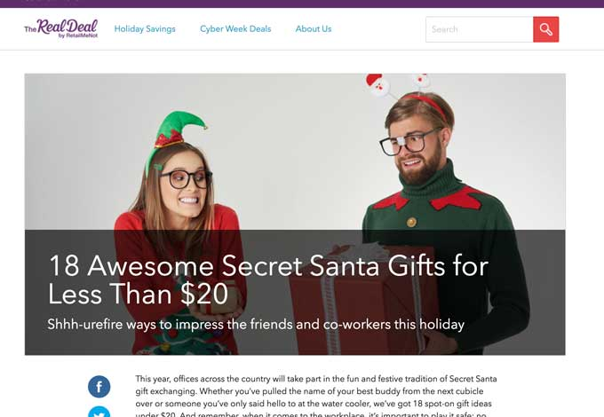 Save money holiday shopping with RetailMeNot!