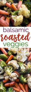 This easy Balsamic Roasted Vegetables Recipe is a fast way to add more healthy veggies to your diet. Quick to prepare and full of flavor!