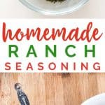 Homemade Ranch Dressing Seasoning is super easy to make and less expensive than store bought.