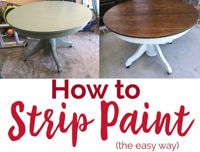How to strip paint the easy way using citristrip paint stripper