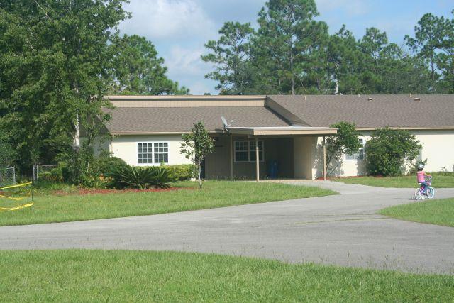 military housing one story duplex