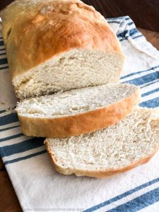 easy homemade white bread recipe