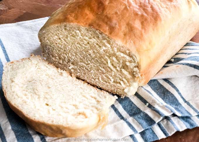 easy homemade white bread recipe