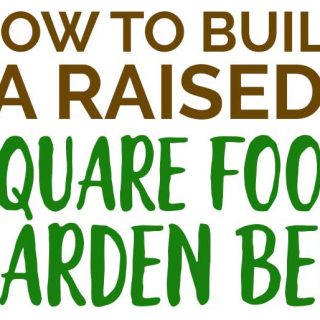 raised square foot garden bed cedar kit