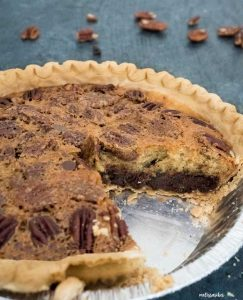 Kentucky Derby Pie is a classic dessert recipe that tastes like a Chocolate Chip Cookie Pie! An easy dessert recipe perfect for entertaining!