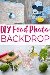 DIY Food Photography Backdrop Tutorial