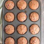 homemade strawberry muffin recipe