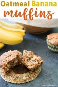 banana oatmeal muffin recipe