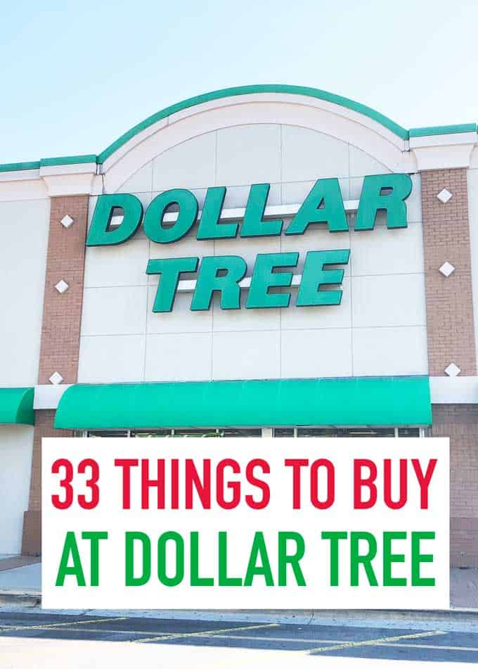 things to buy at dollar tree