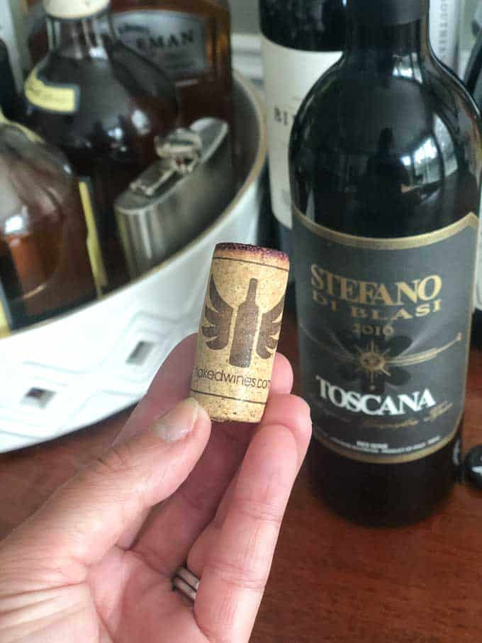 naked wines cork toscana red wine