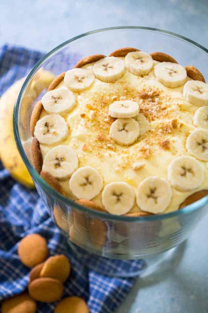 Easy Banana Pudding Trifle Recipe