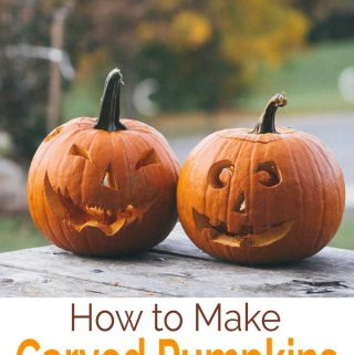 how to make carved pumpkins last longer
