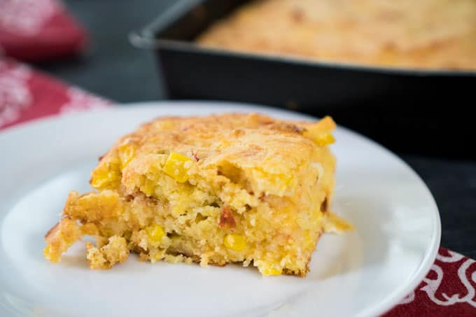 Cheesy Spicy Cornbread