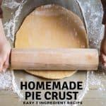 Homemade Butter PIe Crust Recipe