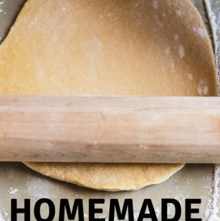 Homemade Butter PIe Crust Recipe
