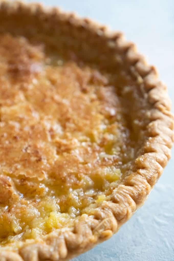 homemade coconut pie recipe