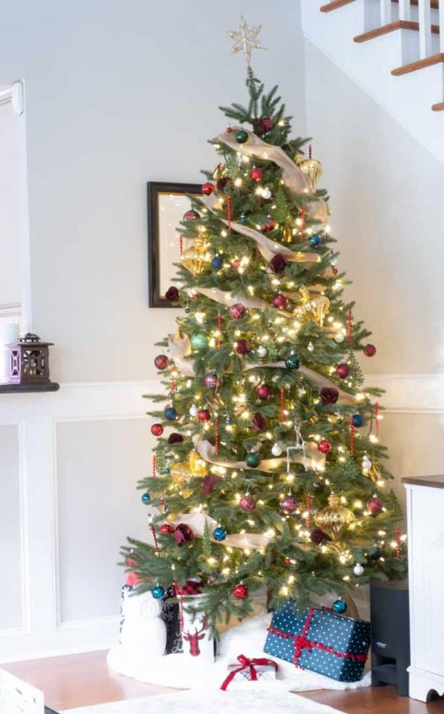 Christmas Home Decor.Christmas Home Tour 2018 The Happier Homemaker