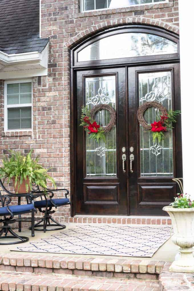 Winter Christmas decor home tour