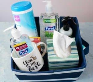 teacher stay well gift basket