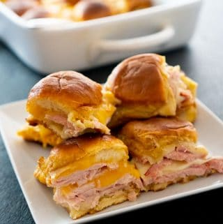 Ham & Turkey Hawaiian Roll Sliders