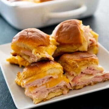 ham and turkey Hawaiian sliders