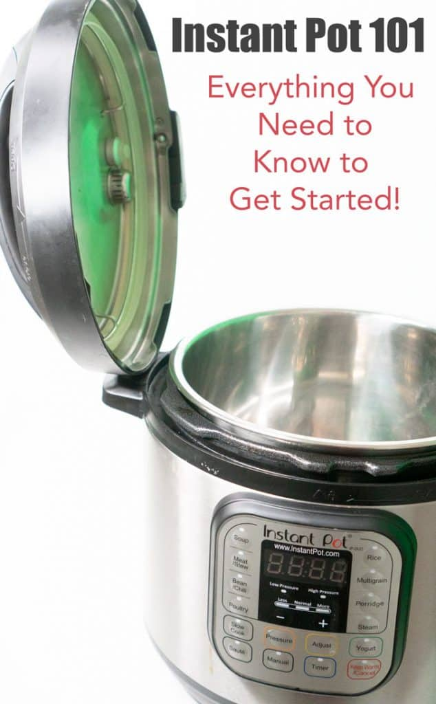 instant pot tutorial