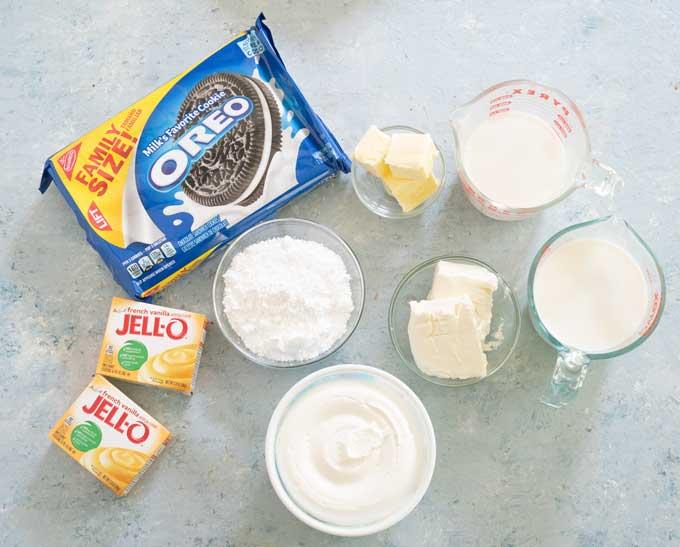 dirt cake ingredients