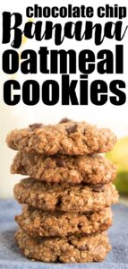 stack of peanut butter Oatmeal cookies