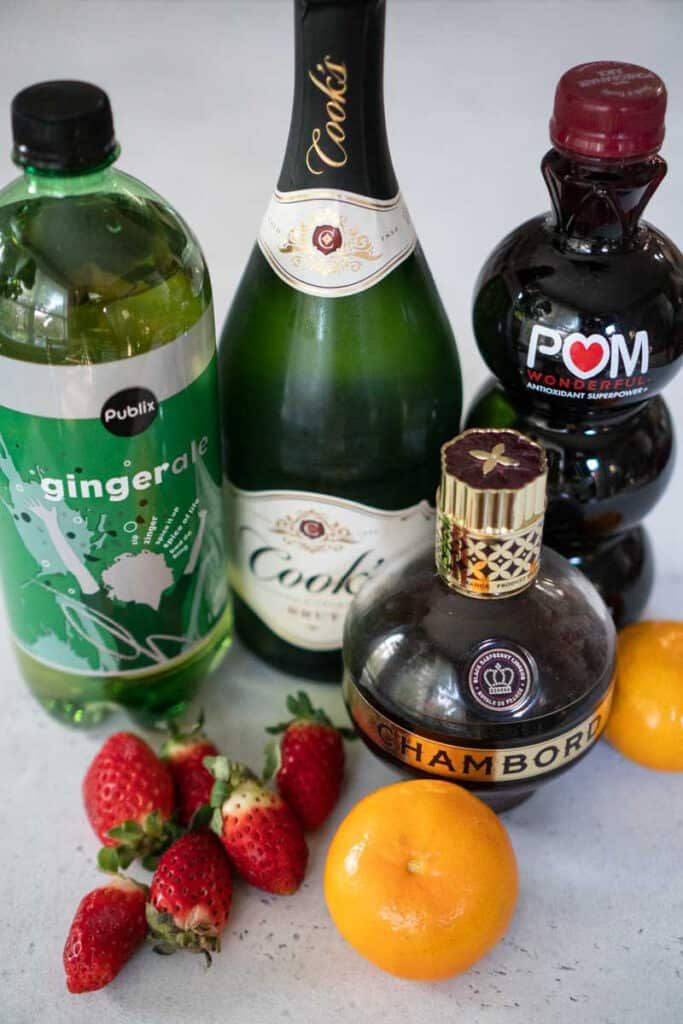 champagne punch ingredients