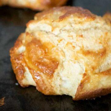 loaf of pretzel bread