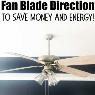 how to change a ceiling fan direction