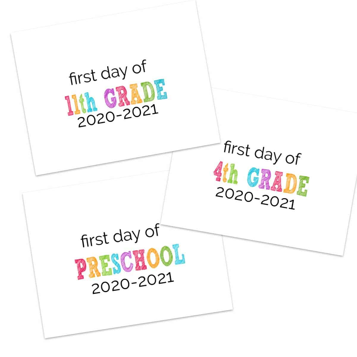 1st Day of School 1st and Last Day Photo Preschool Sign First Day of School Classroom Banner Kindergarten Sign First Day of Preschool