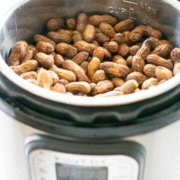 boiled peanuts in an Instant Pot