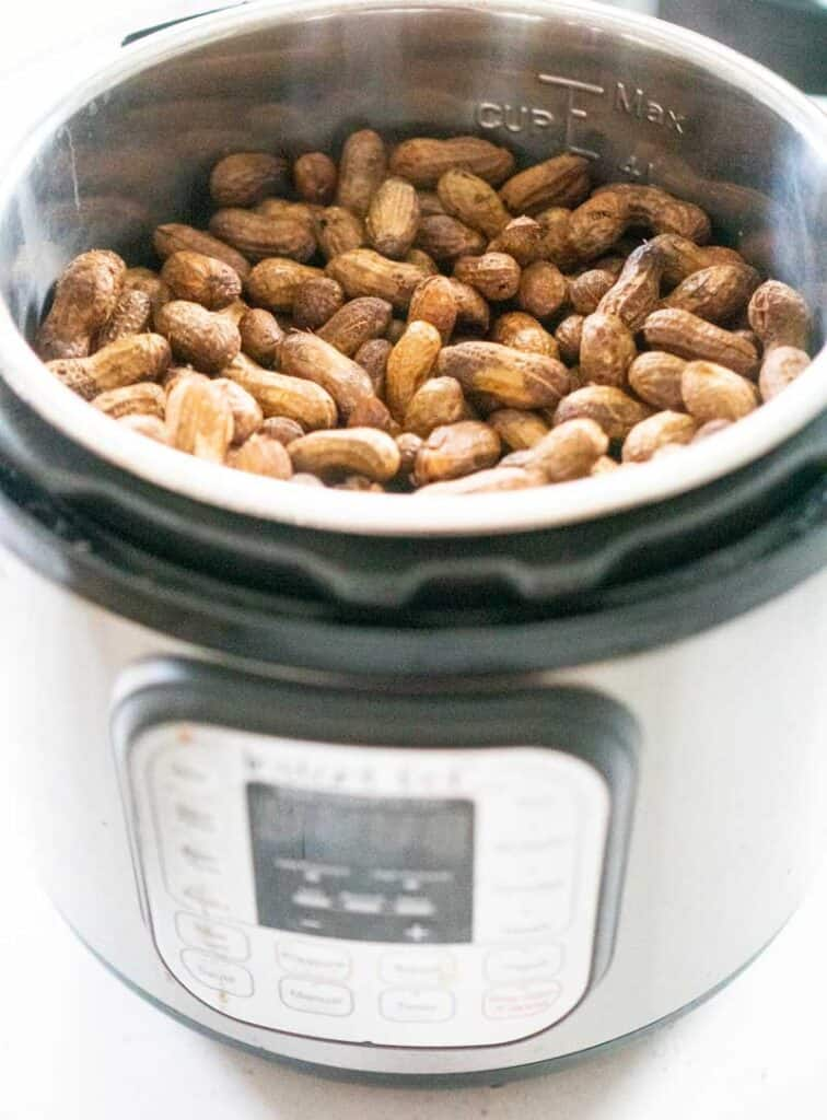 boiled peanuts in instant pot