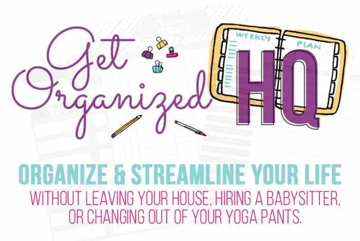 Get Organized HQ logo