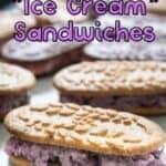 breakfast sandwiches with Belvita breakfast biscuits and frozen yogurt