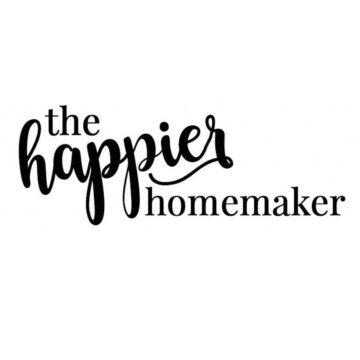 Tha Happier Homemaker blog logo